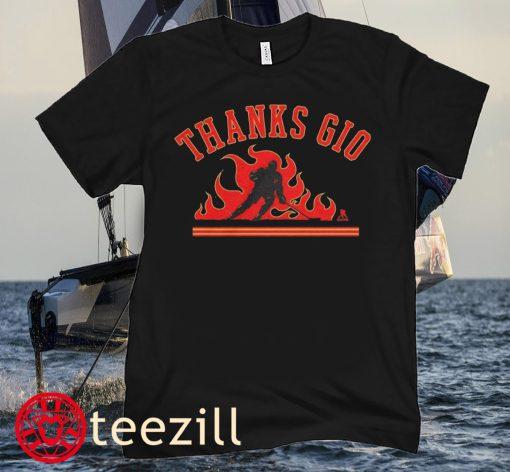 Mark Giordano Thanks Gio - Seattle Kraken Shirt
