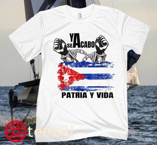 SEYACABO PATRIA Y VIDA SHIRT