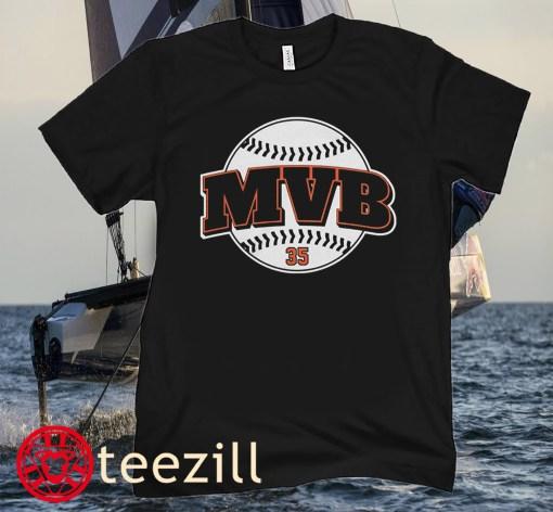 Brandon Crawford San Francisco MVB Brandon T-Shirts