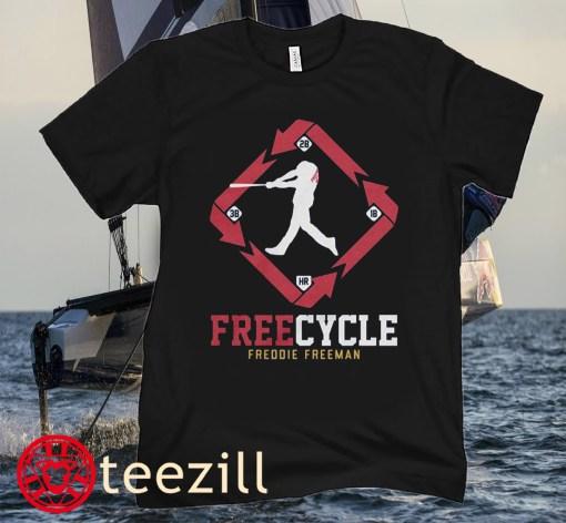 Freddie Freeman Free Cycle Atlanta Baseball Shirt