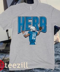 Justin Herbert Herb Football Shirt