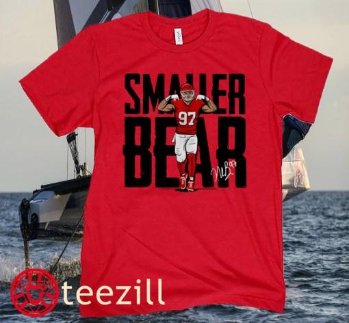 Nick Bosa San Francisco Football Smaller Bear Shirt