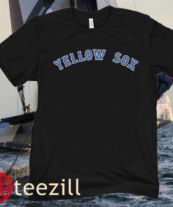 Boston Red Sox Apparel Yellow Sox Shirt