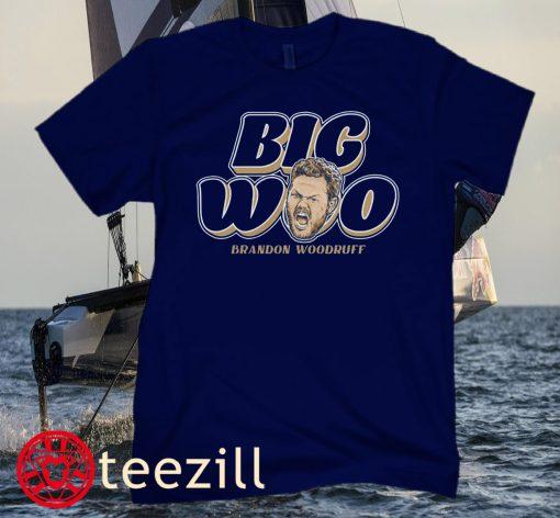 Brandon Woodruff- Big Woo Baseball Shirt