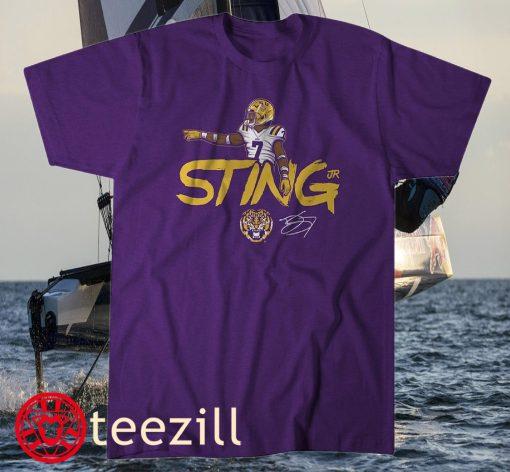 LSU Derek Stingley Jr Louisiana Shirt
