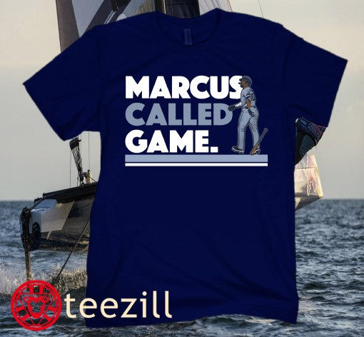MARCUS SEMIEN- MARCUS CALLED GAME OF SHIRTS