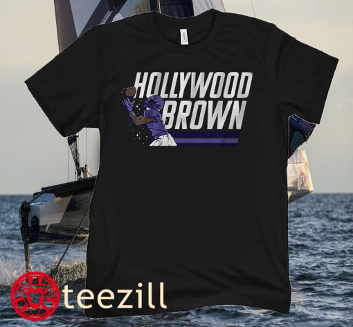 Marquise BrownM, Hollywood Brown Monumental Football Shirt