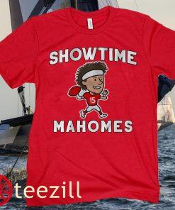 Patrick Mahomes Showtime Kids Shirt Kansas City Chiefs