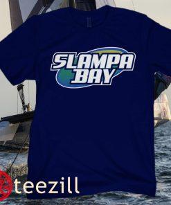 Slampa Bay Classic T-Shirt - Tampa Bay Baseball