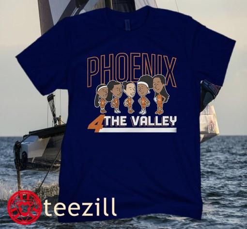Phoenix 4 The Valley Basketball Tee Shirt