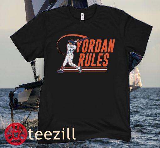 Yordan Alvarez Rules Houston Baseball Tee Shirt