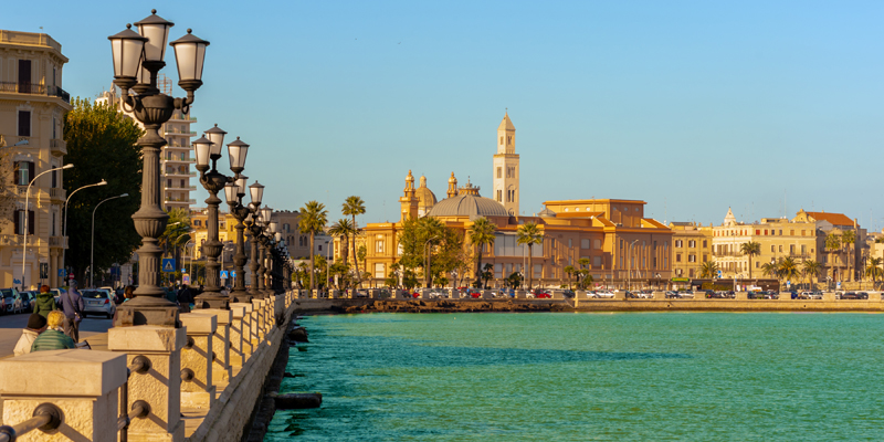 One week in Bari as a ESL teacher