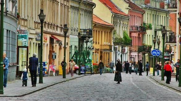 Teaching English in Vilnius, Lithuania