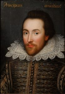 William Shakespeare helped the English language progress toward modern English.
