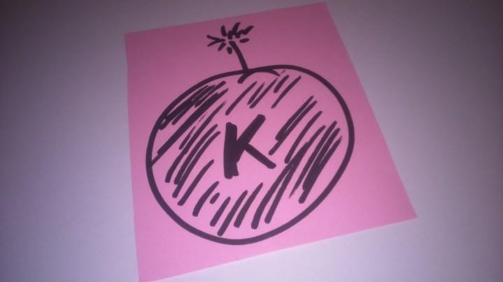 Kaboom card - 1