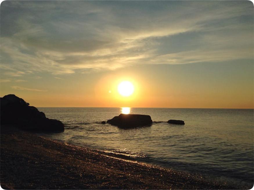 Mediterranean sunrise by TEFL graduate Catalina Francu