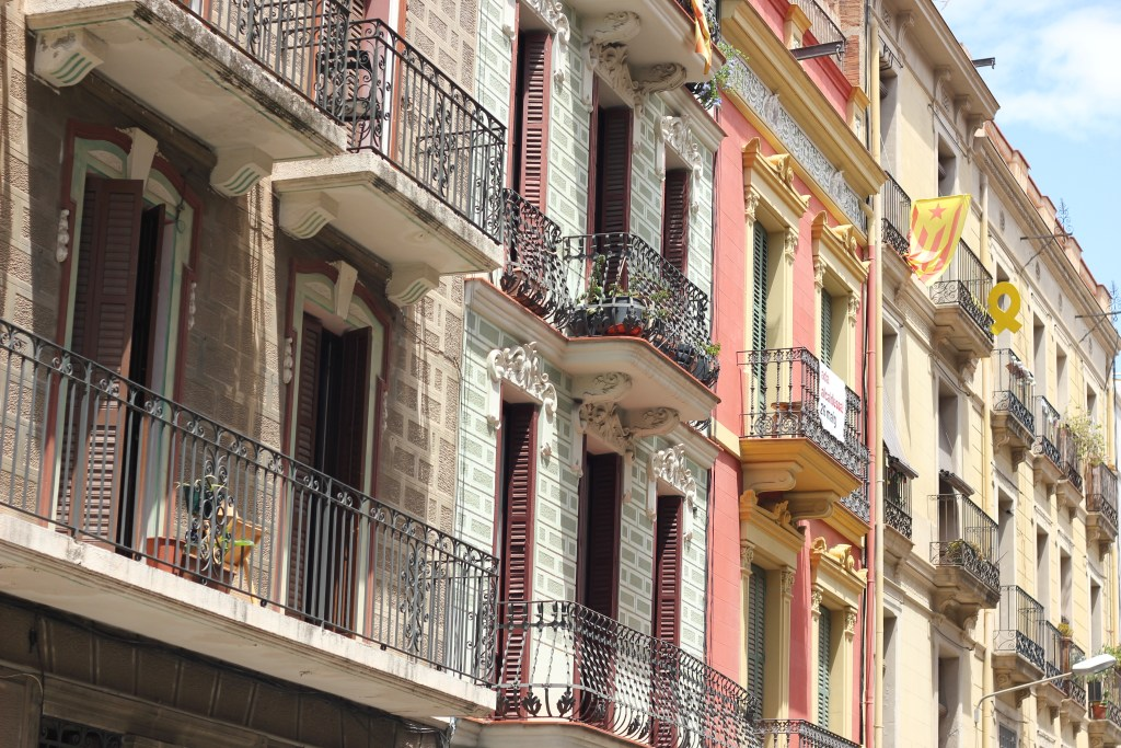 Flats with terraces in Barcelona Spain