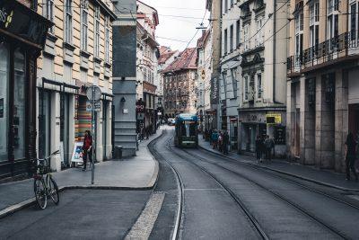 Graz town centre