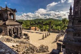 Temple at Hue, Vietnam.