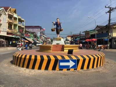 Koh Kong city centre