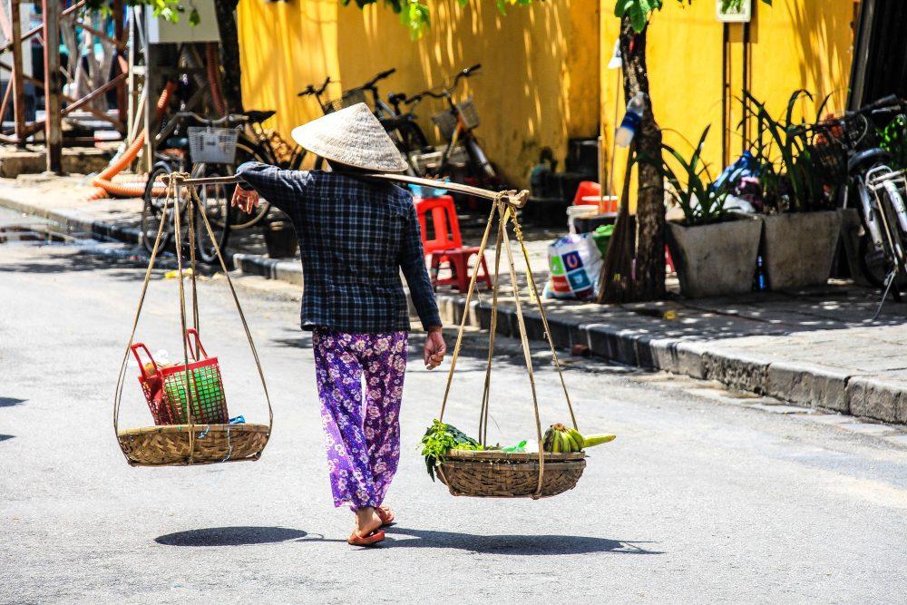 Vietnamese street view.