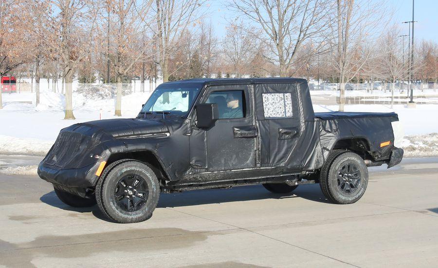 Las tomas espía de la Jeep Scrambler nos muestran un vehículo totalmente diferente