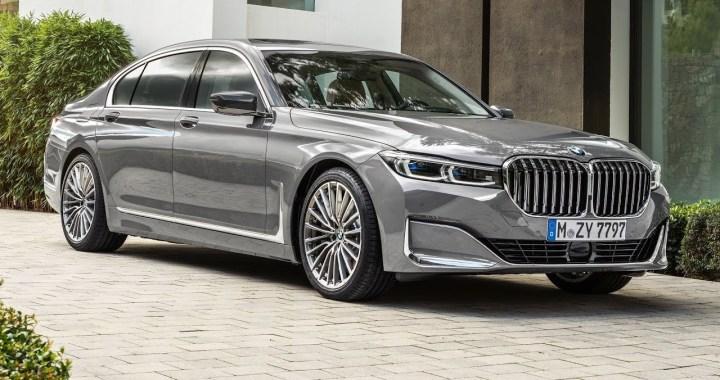 La parrilla de la serie 7 de BMW 2020 es un 40 por ciento más grande