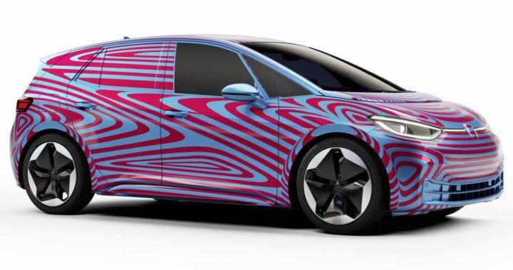 ID.3 identificación para los nuevos autos eléctricos de Volkswagen