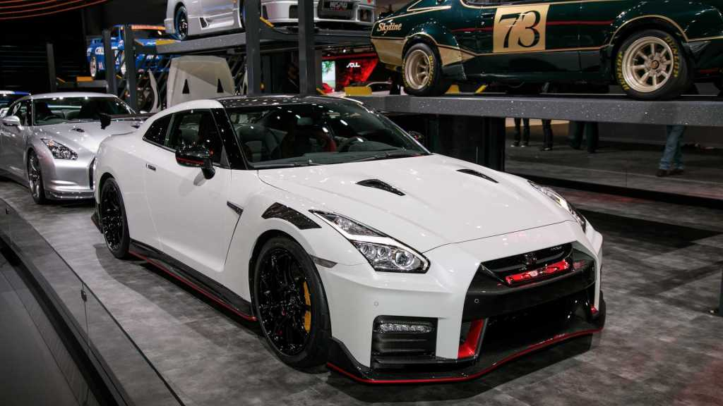 Nissan GT-R 2020 blanco