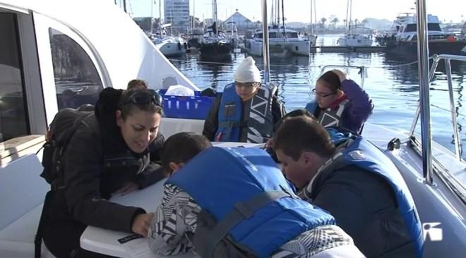 03/02 Els alumnes del Guillem de Montgrí estrenen la nova edició de la Setmana de la Mar