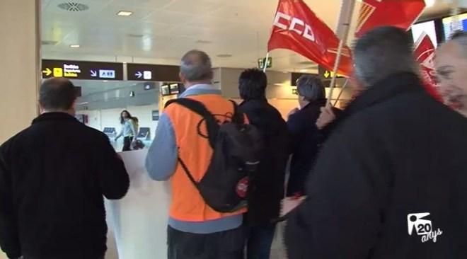 21/07 Empresaris turístics confien en que no hagi vaga a l'aeroport