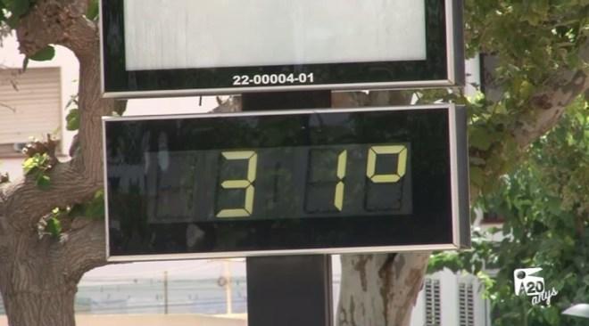 21/07 Alerta groga per altes temperatures a les Pitiüses