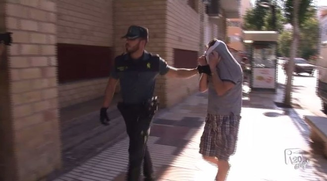 27/07 Vídeo: Declara el presumpte autor de l'incendi de Sant Antoni