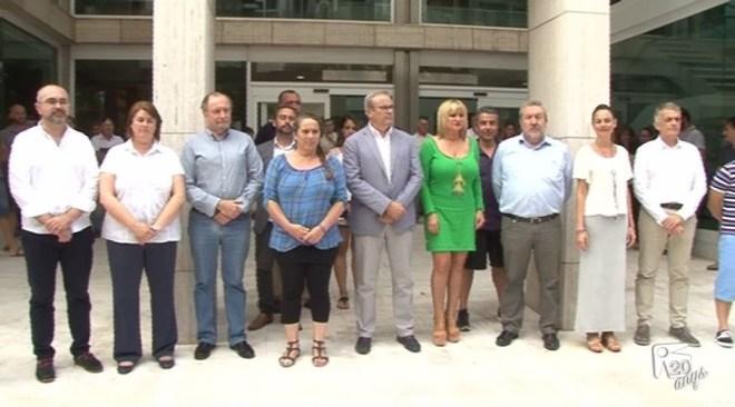 15/07 Solidaritat a les Pitiüses amb la massacre de Niça