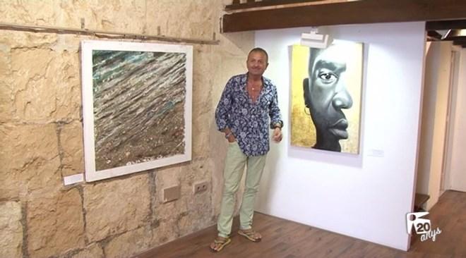 04/08 10 artistes internacionals a la Galeria Marta Torres