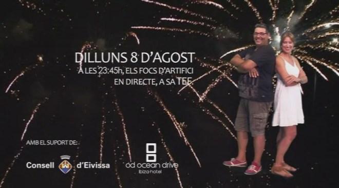 Promo: Focs d'Artifici del dia de l'Illa d'Eivissa, 8 d'agost