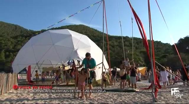 11/09 Eivissa en Festes – Jornada D'activitats de circ a Cala Llonga