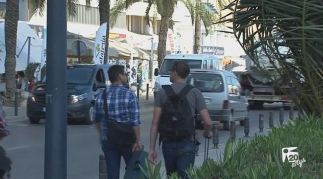 16/09 Vila cedirà part de l'Avinguda Santa Eulària a Autoritat Portuària