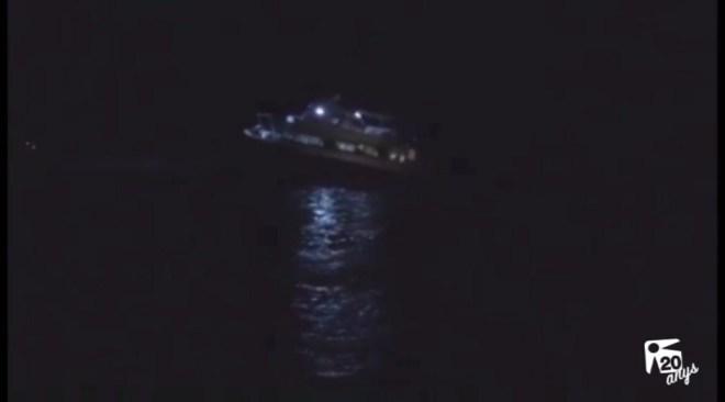 16/09 La Joven Antonia II encalla a sa Torreta amb 11 persones a bord