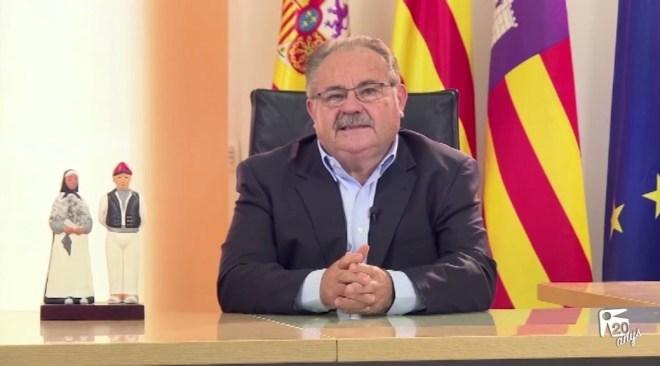 24/12 Antoni Marí Marí 'Carraca': Missatge de Nadal 2016