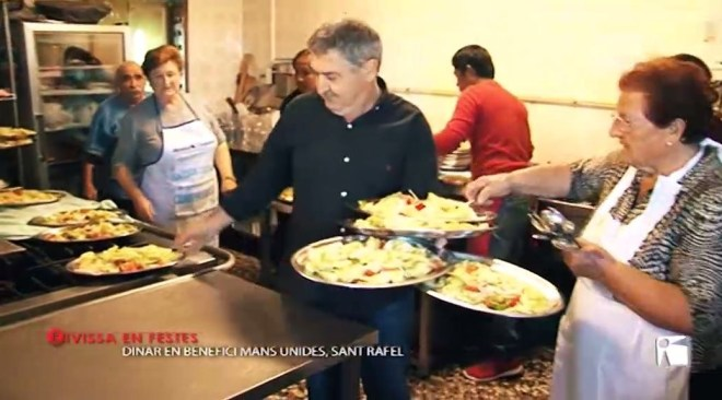 12/11 Eivissa en festes - Dinar Mans Unides a Sant Rafael
