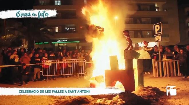 27/03 Eivissa en Festes - Celebració de les falles a Sant Antoni
