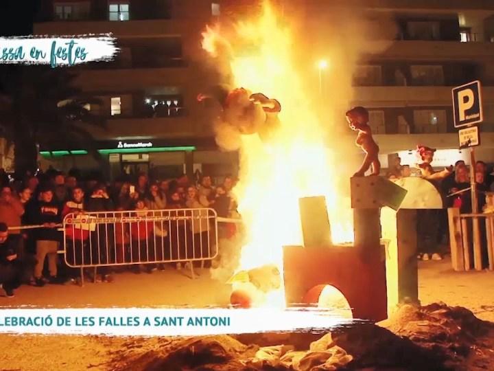 27/03 Eivissa en Festes – Celebració de les falles a Sant Antoni