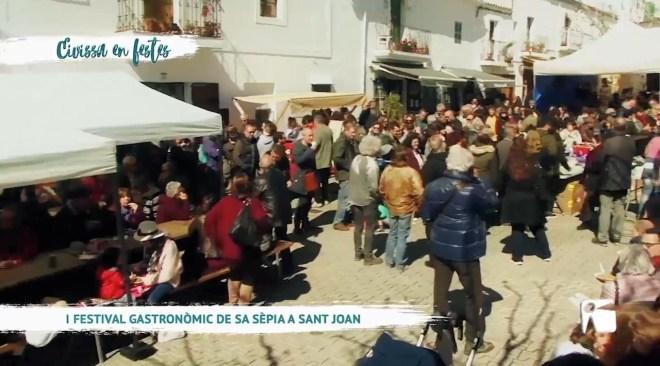 25/03 Eivissa en Festes – I Festival gastronòmic de sa sèpia a Sant Joan