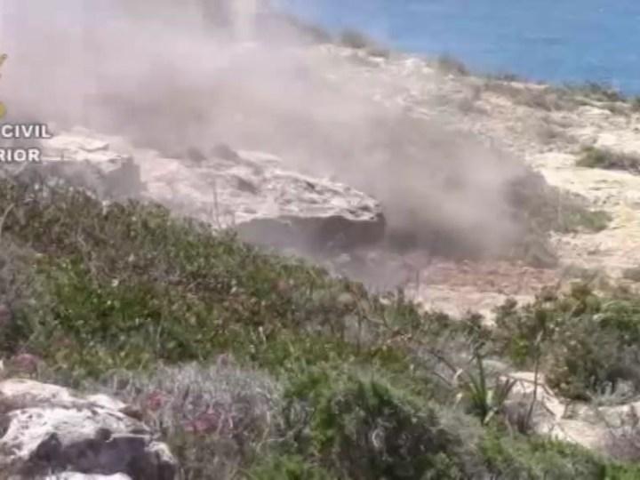 16/05 Destrucció de projectils a Sa Coma i platges de Comte.