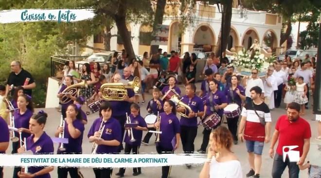 18/07 Eivissa en Festes - Festivitat de la mare de Déu del Carme a Portinatx