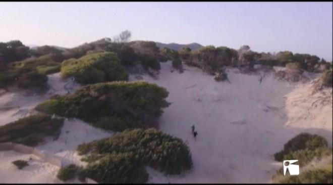 07/09 El nou programa de Cuatro es salta les lleis de protecció d'espais naturals a les Pitiüses