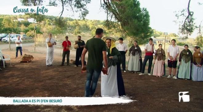 09/10 Eivissa en Festes – Ballada a es pi d'en Besuró