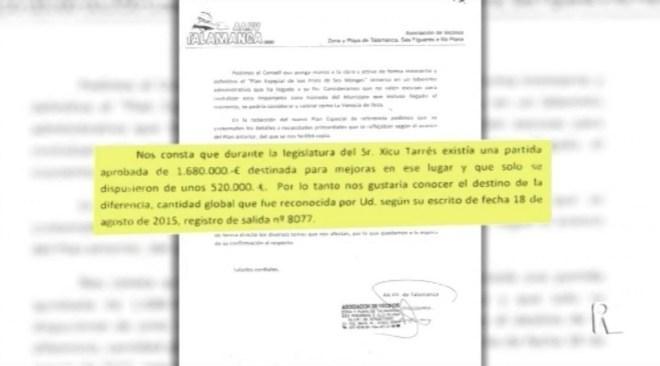 29/10 L'Associació de Veïns de Talamanca estudia denunciar a les administracions per la situació en que es troben Ses Feixes
