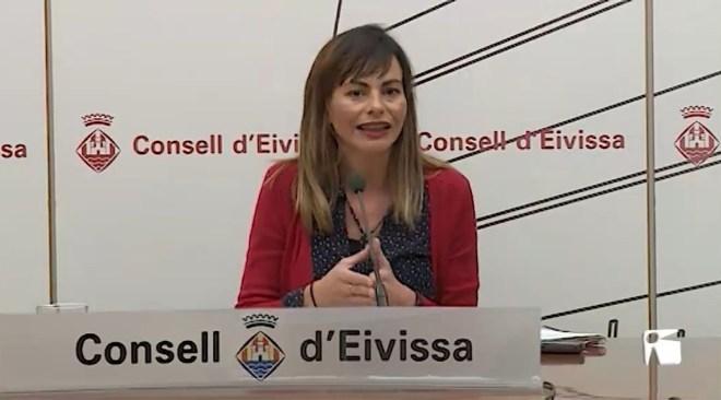 14/03/2019 Lydia Jurado es defensa dels atacs de Guanyem